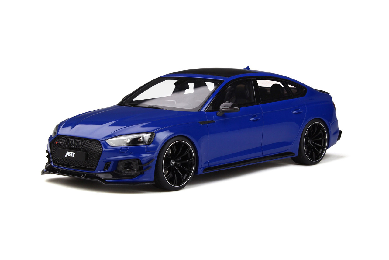 1 18 Gt Spirit Gtspirit Audi Rs5 Abt Sportback Blue Resin Car Model Livecarmodel Com