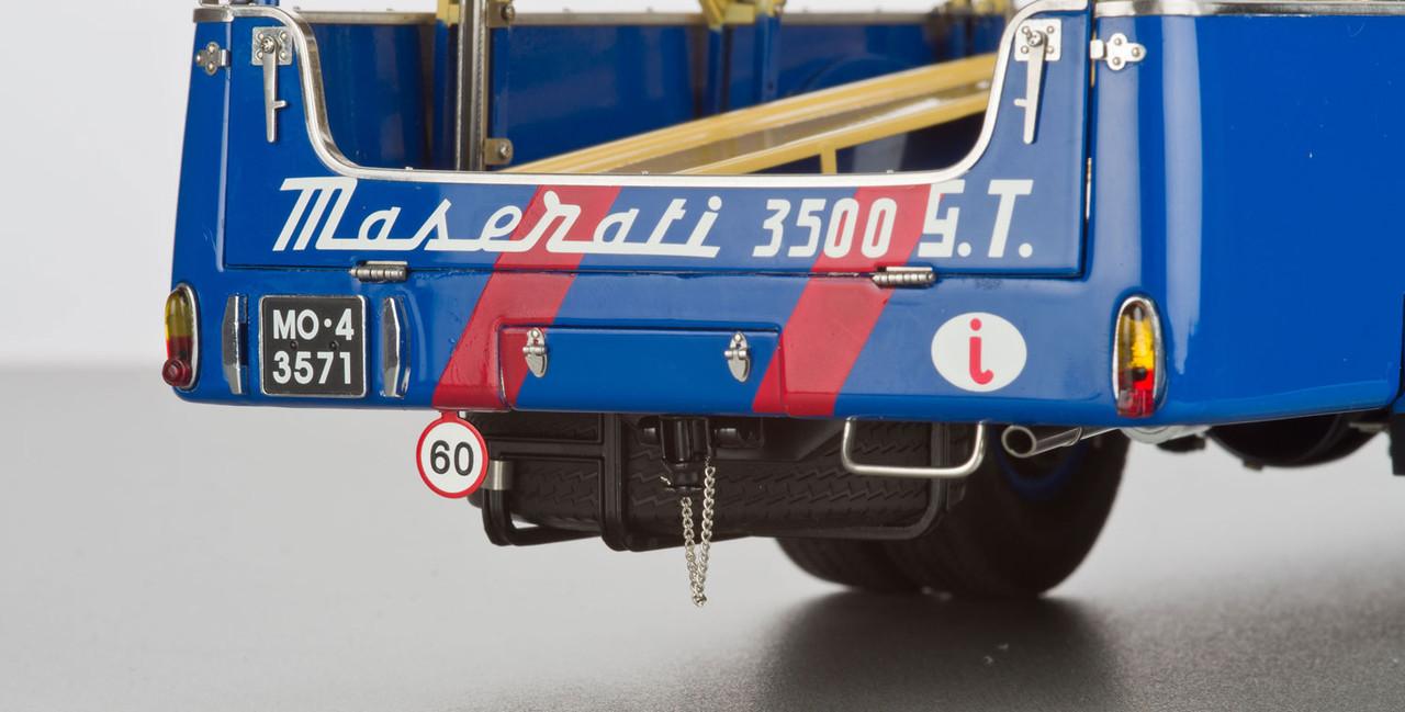 1/18 CMC 1957 BARTOLETTI MASERATI RENNTRANSPORTOR TYP FIAT 642 RN2 Diecast Car Model