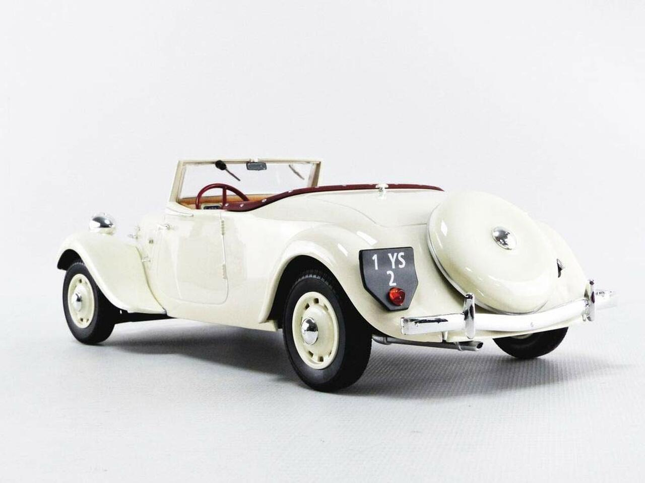 1936 BMW 328 ROADSTER crème 1:18 Minichamps Dealer QUALITE