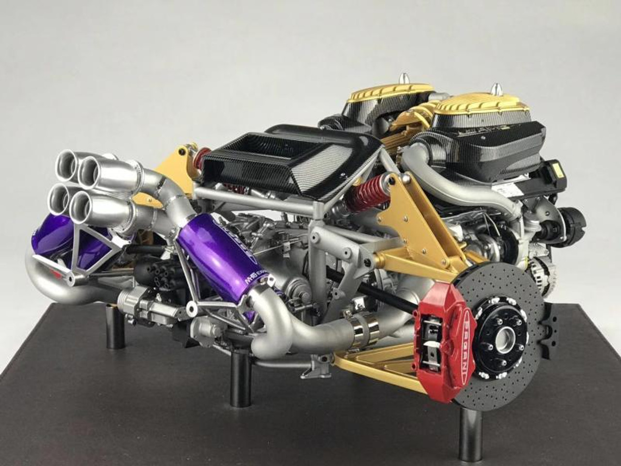 1 6 Frontiart Pagani Huayra Engine Model Limited Livecarmodel Com
