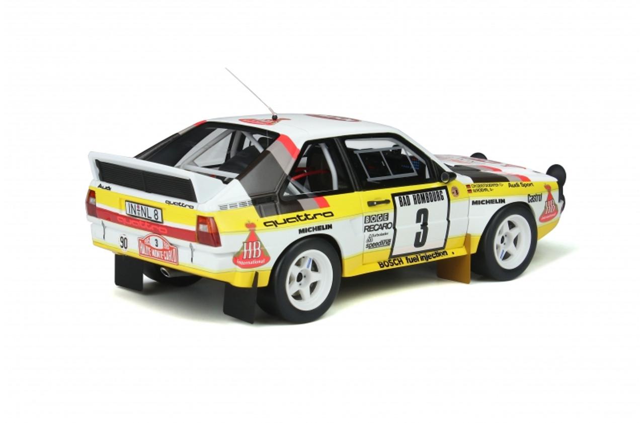 1/18 OTTO 1985 Audi Sport Quattro Rally RMC Resin Car Model