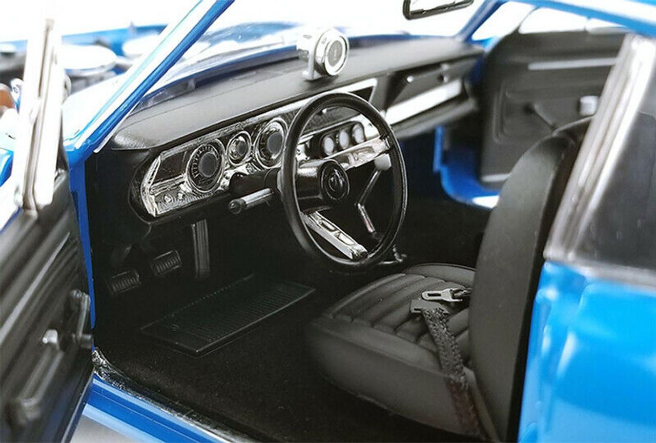 1:18 GMP//ACME Plymouth Hemi Cuda Street Fighter 1969 blue//flatblack