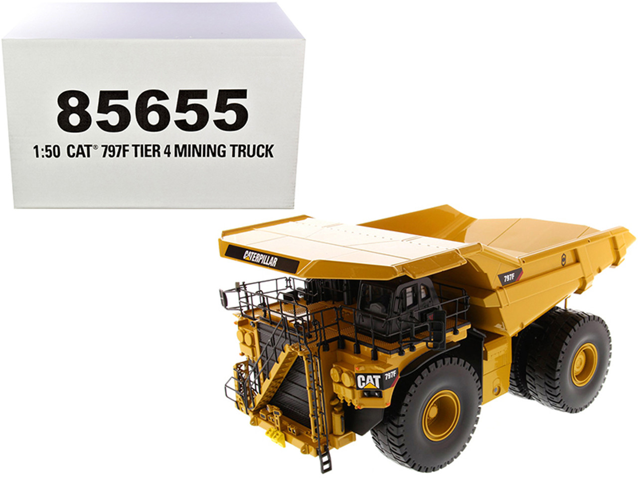 "CAT Caterpillar 797F 4 Tier Mining Truck ""High Line Series"" 1/50 Diecast Model by Diecast Masters"