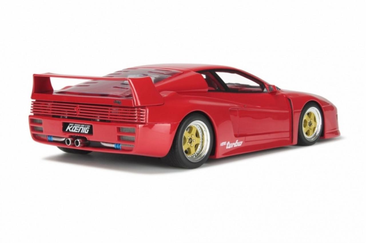 1 18 Gt Spirit Gtspirit Ferrari Testarossa Koenig Competition Evolution Red Resin Car Model Livecarmodel Com