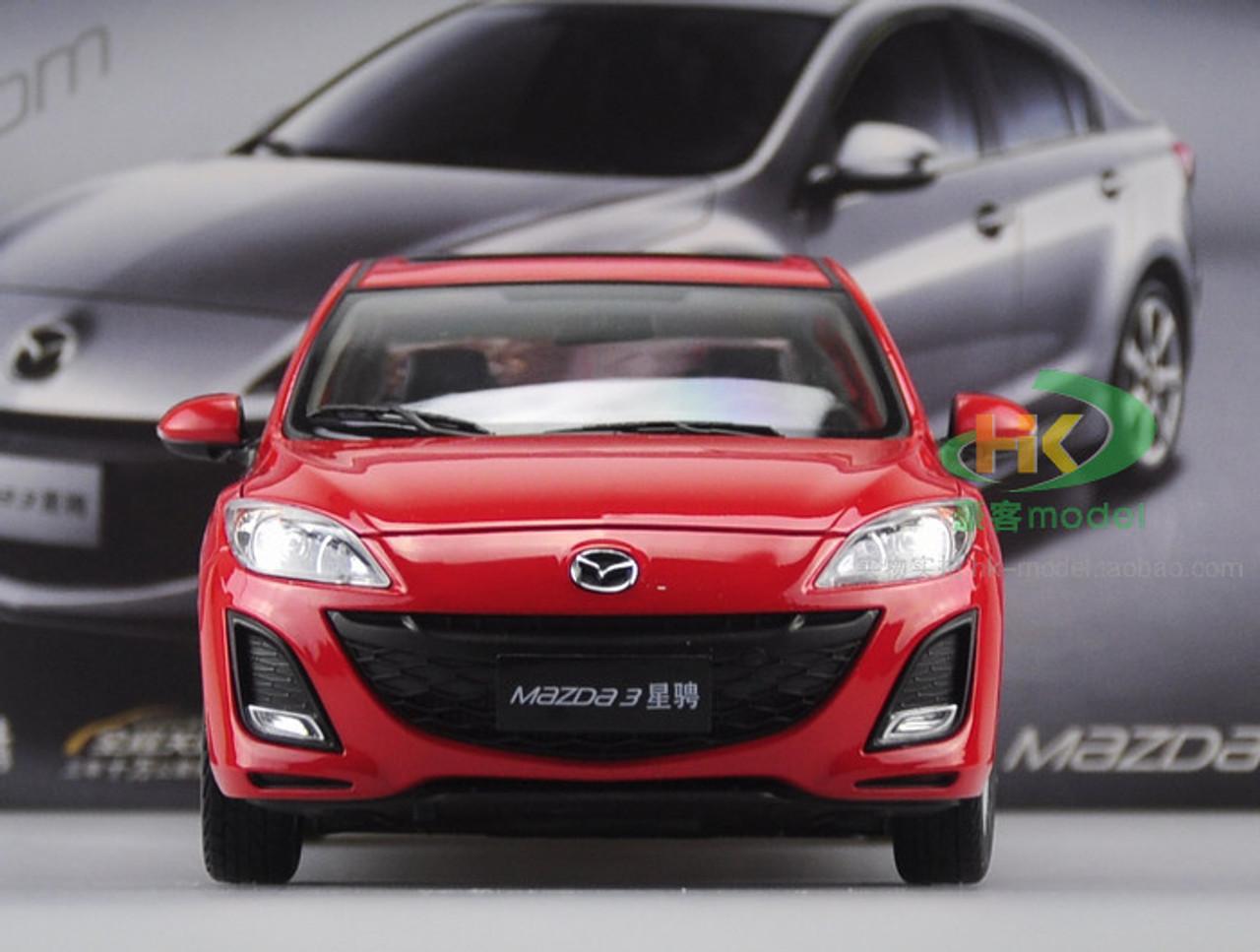 RARE DEALER EDITION 1/18 MAZDA 3 (RED) DIECAST CAR MODEL