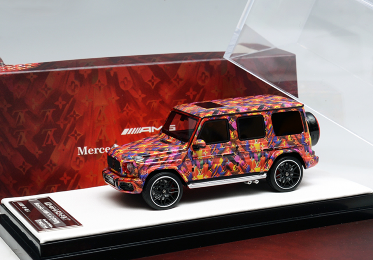 1/64 Motorhelix Mercedes-Benz Mercedes G63 AMG LV Decal Car Model Limited