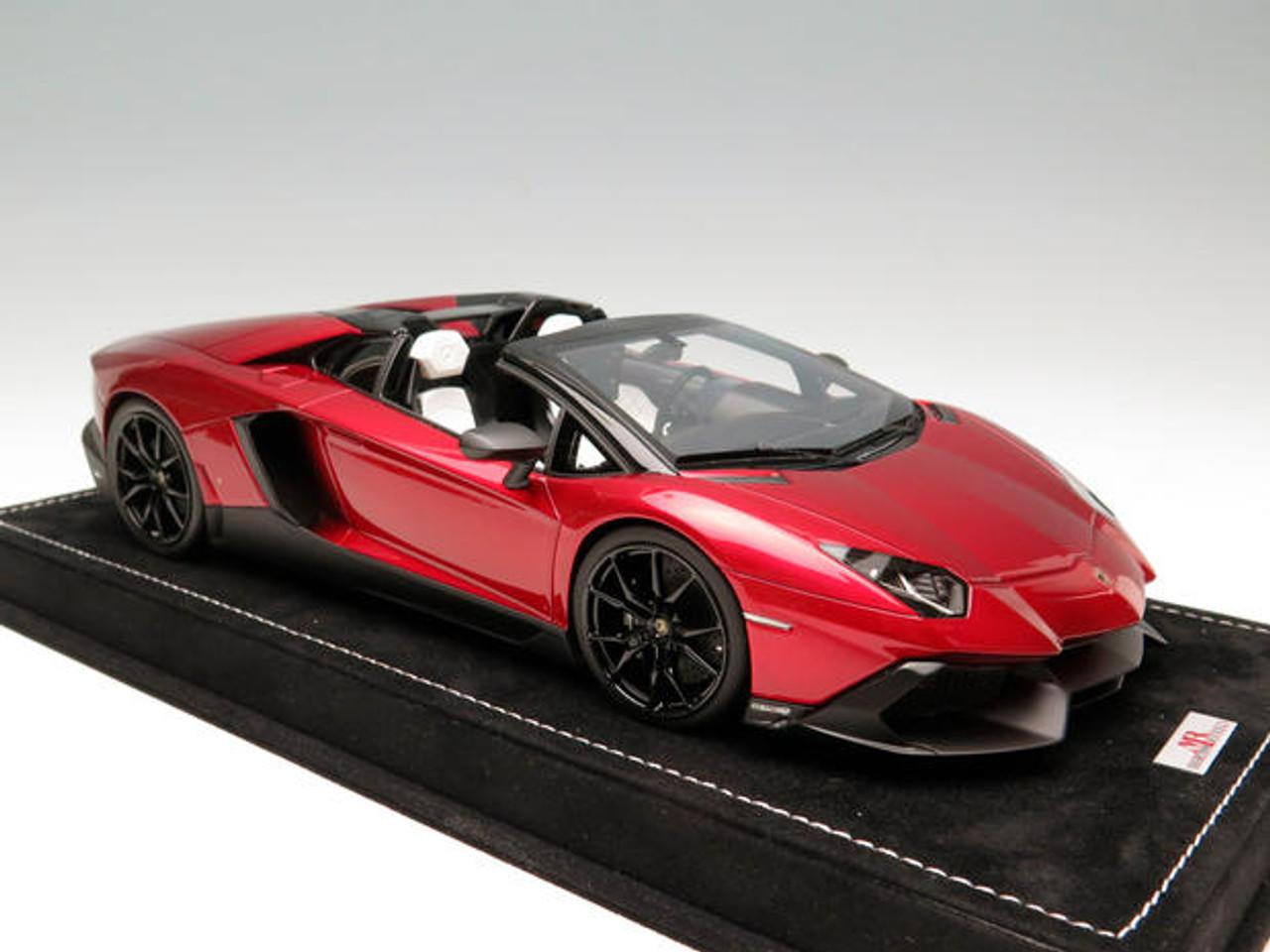 Mr 1 18 Handmade Lamborghini Aventador Lp720 4 Metallic Red Livecarmodel Com