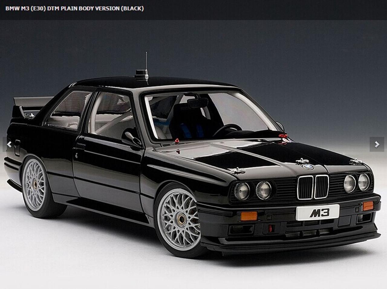 Bmw M3 E30 >> 1 18 Autoart Bmw M3 E30 Dtm Plain Body Version Black
