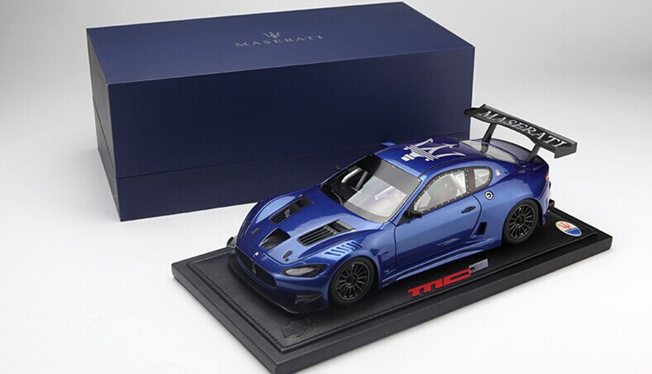 LIMITED 68! BBR 1/18 Maserati GranTurismo GT3 (Blue)