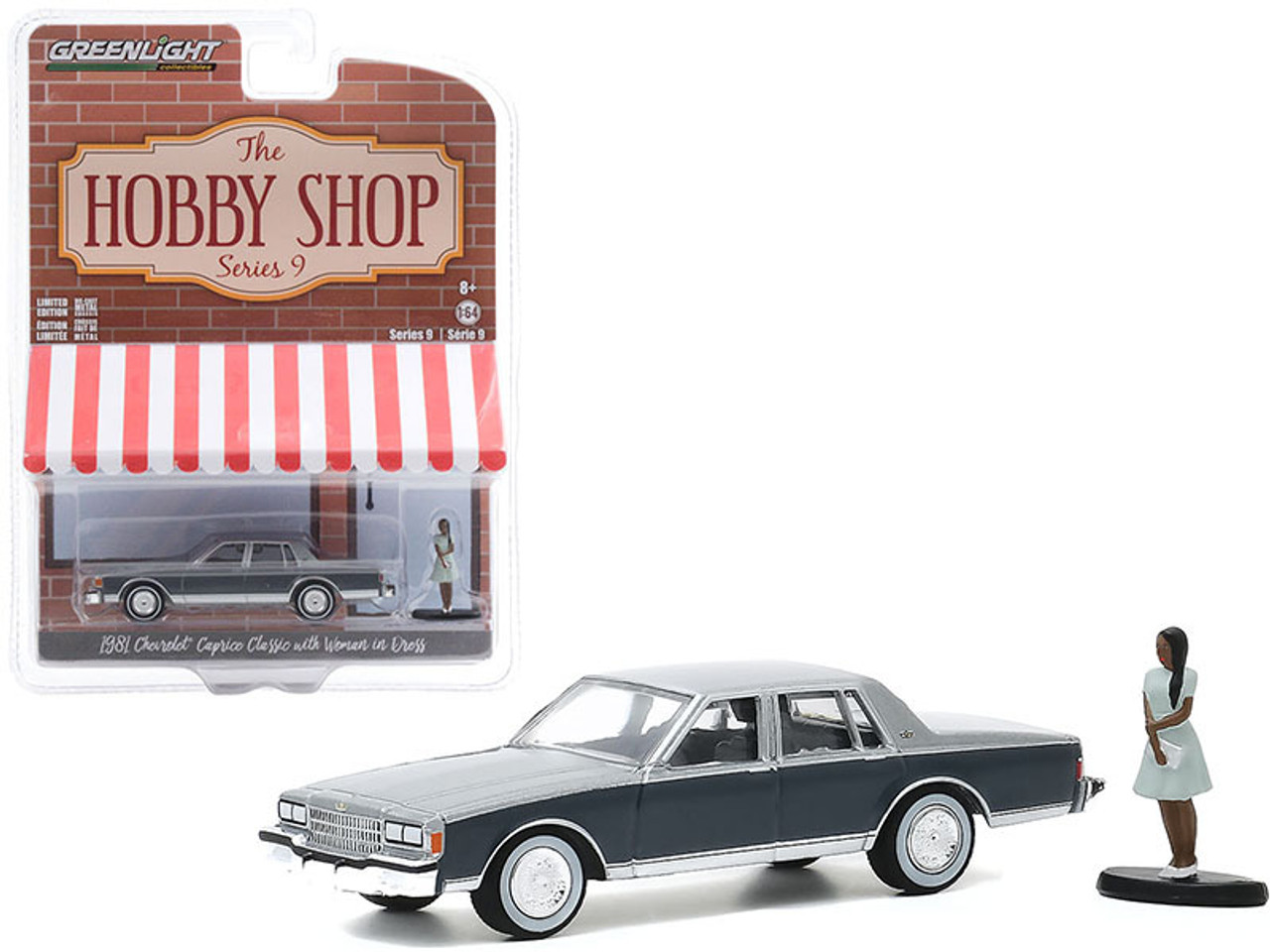 Greenlight Hobby Shop series 1981 Chevrolet Caprice Classic