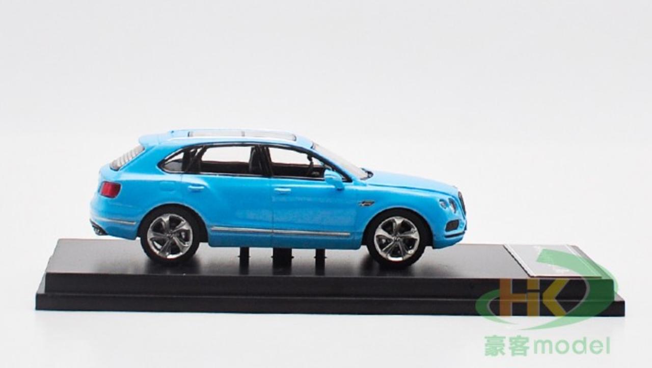 1/64 Dealer Edition Bentley Bentayga (Blue) Diecast Car Model