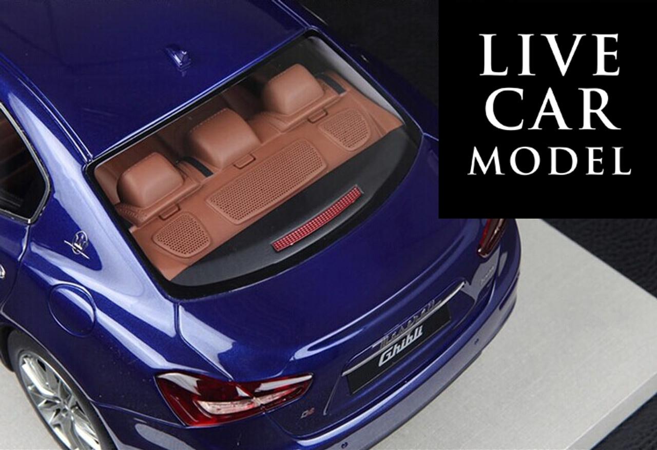 1/18 BBR Top Marques Maserati Ghibli (Blue)