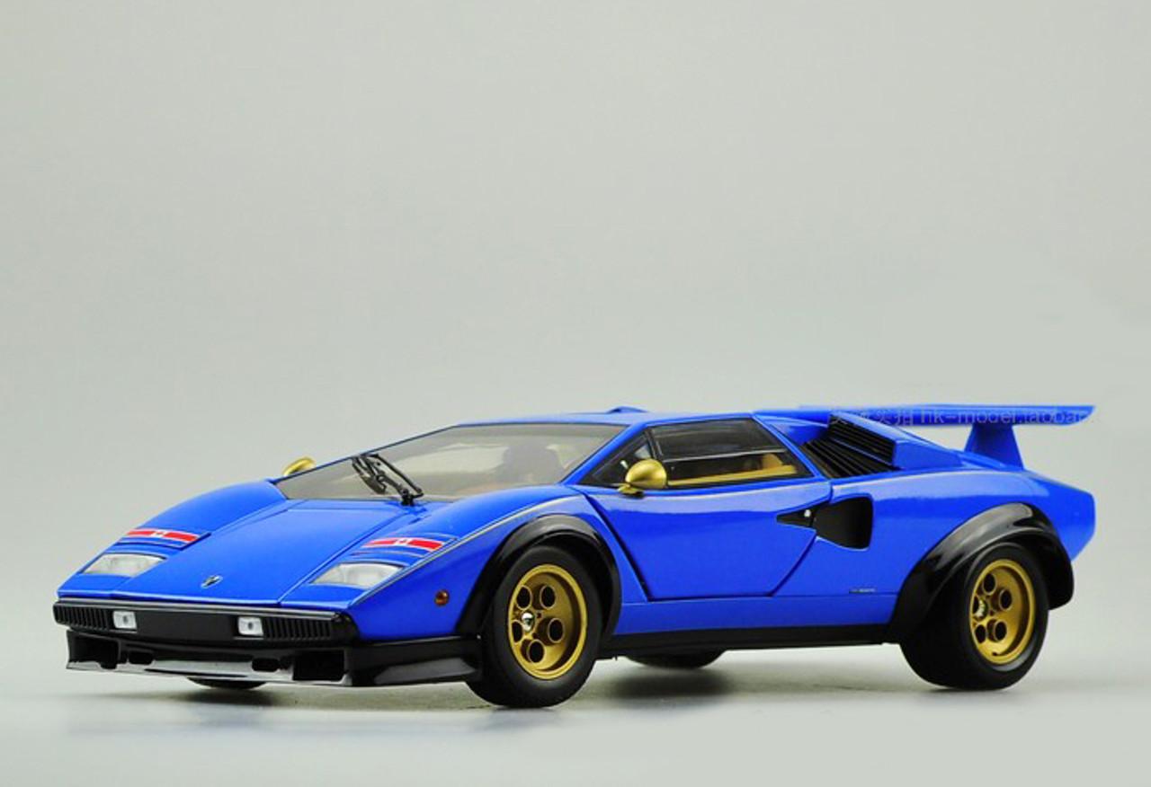 KYOSHO KS06930A2 LAMBORGHINI COUNTACH LP500S 1//64 DIECAST MODEL CAR BLUE