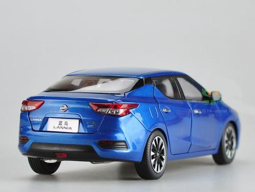 1/18 Dealer Edition Nissan Lannia (Blue)