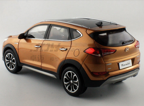 1/18 Dealer Edition 2015 Hyundai Tucson (Orange)