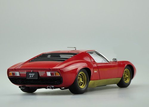 1/18 Kyosho Lamborghini Miura P400 SV (Red) Diecast Car Model