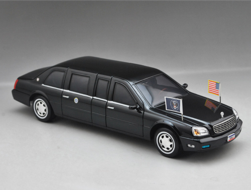 1/24 Yatming 2001 Cadillac Deville Presidential Limo