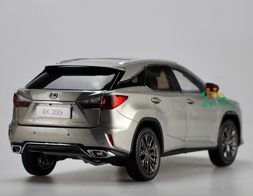 1/18 Dealer Edition Lexus RX RX350 F Sport FSport (Grey) Diecast Car Model
