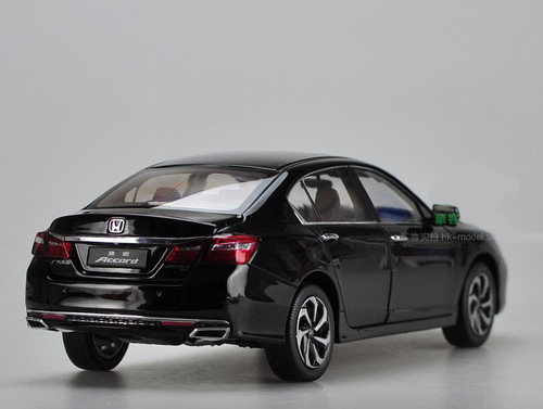 1/18 Dealer Edition Honda Accord (Black) 9th generation (2013-2017) Diecast Car Model