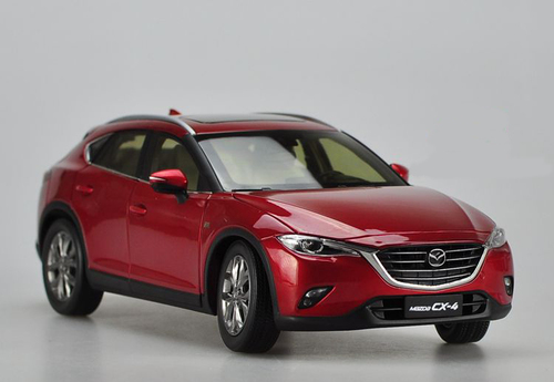1/18 Dealer Edition Mazda CX-4 CX4 (Red) Diecast Car Model