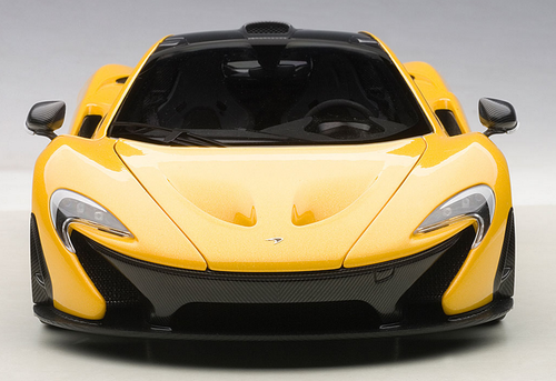 1/18 Autoart Mclaren P1 (Yellow) Diecast Car Model 76021