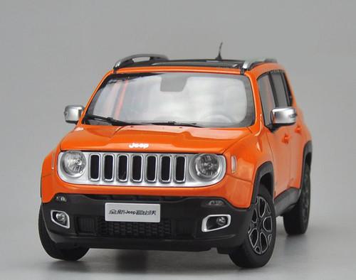 1/18 Dealer Edition Jeep Renegade (Orange) Diecast Car Model