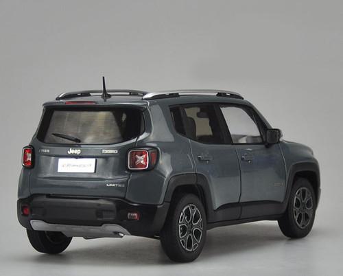 1/18 Dealer Edition Jeep Renegade (Grey) Diecast Car Model