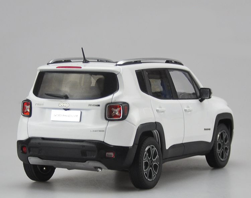 1/18 Dealer Edition Jeep Renegade (White) Diecast Car Model