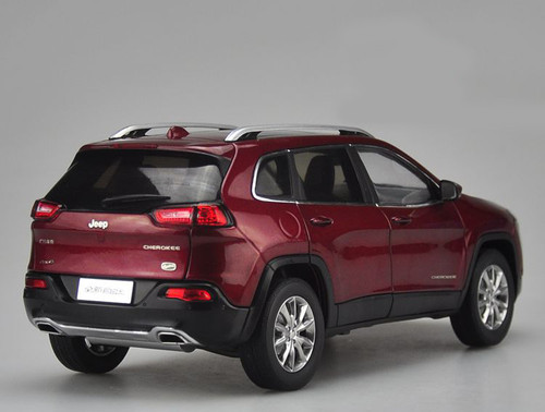 1/18 Dealer Edition Jeep Cherokee (Red)