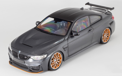 1/18 Minichamps BMW M4 GTS (Matte Grey) Diecast Car Model