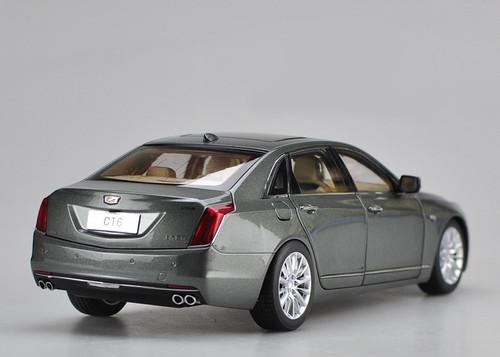 1/18 Dealer Edition Cadillac CT6 (Grey) Diecast Car Model