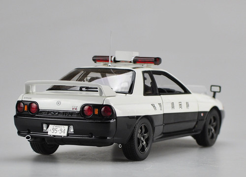 1/18 Kyosho Nissan GTR R32 Police Car Diecast Car Model
