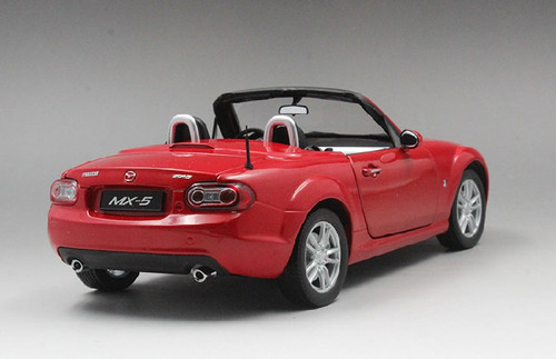 1/18 Dealer Edition Mazda MX-5 MX5 Miata (Red) Diecast Car Model