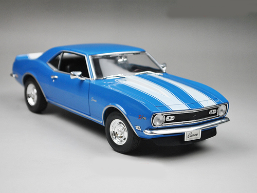 1/18 Welly 1968 Chevrolet Camaro Z28 (Blue)