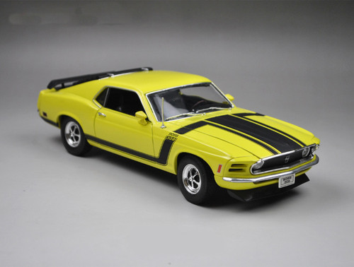 1/18 Welly 1970 Ford Mustang Boss 302 (Yellow)
