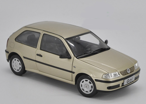 1/18 Dealer Edition Volkswagen Gol (Gold) Diecast Car Model