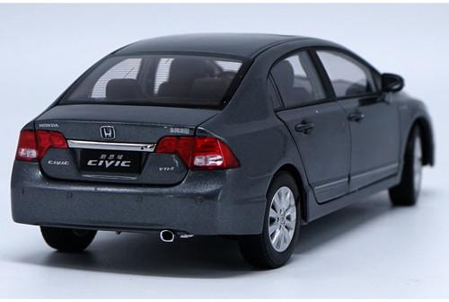1/18 Dealer Edition Honda Civic (Grey) 8th Generation (2006–2011) Diecast Car Model