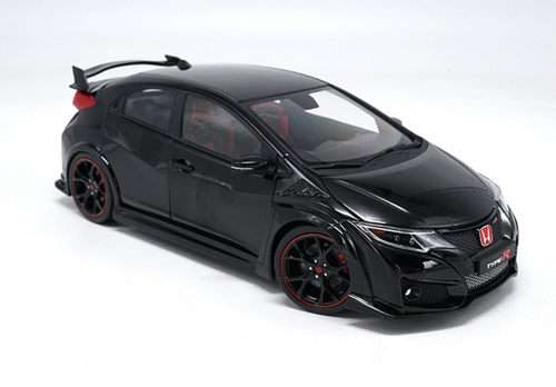 1/18 Ebbro Honda Civic Type R TypeR (Black) Resin Car Model