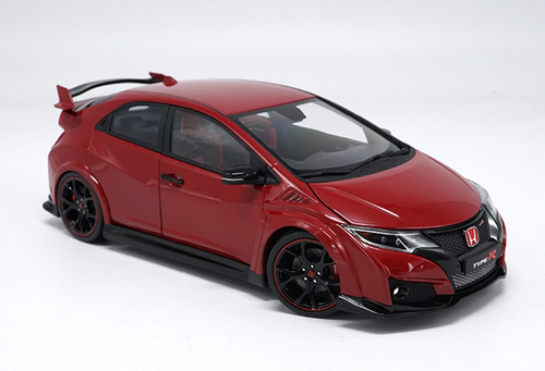1/18 Ebbro Honda Civic Type R TypeR (Red) Resin Car Model