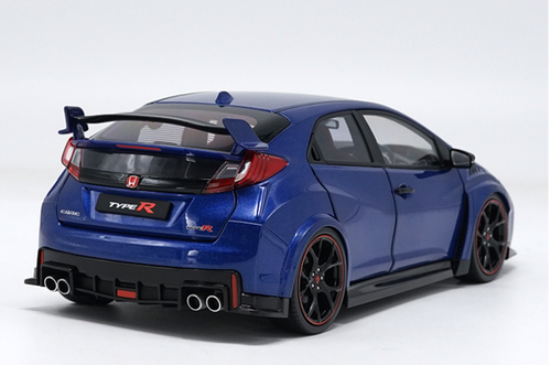 1/18 Ebbro Honda Civic Type R TypeR (Blue) Resin Car Model