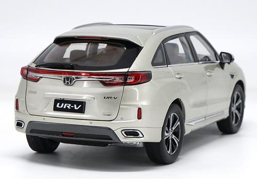 1/18 Dealer Edition 2017 Honda UR-V URV (light champagne) Diecast Car Model
