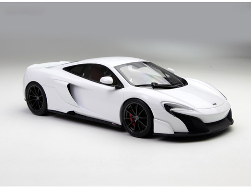 1/18 Kyosho Mclaren 675LT (White) Enclosed Diecast Car Model