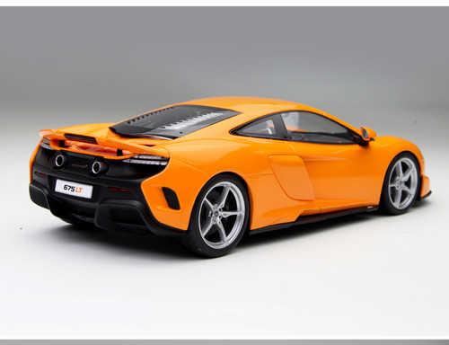 1/18 Kyosho Mclaren 675LT (Orange) Enclosed Diecast Car Model