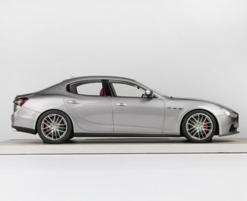 1/18 BBR Top Marques Maserati Ghibli (Grey)
