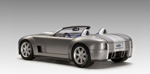 1/18 AUTOart Ford Shelby Cobra Concept (TUNGSTEN SILVER WITH GREY STRIPE) Limited
