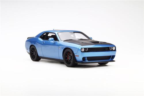1/18 GTSpirit GT Spirit Dodge Challenger Hellcat (Blue) Resin Car Model Limited