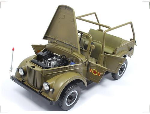 1/18 Soviet GAZ 69 Diecast Car Model