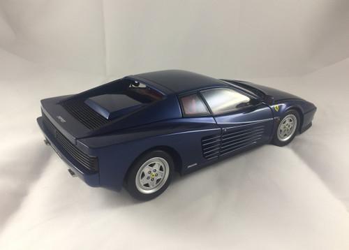 1/18 Kyosho 1989 Ferrari Testarossa (Blue) Custom Painted