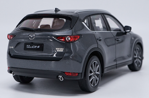 1/18 Dealer Edition 2018 Mazda CX-5 CX5 (Grey) Diecast Car Model