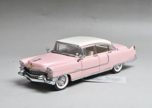 1/24 Franklin Mint 1955 Cadillac Fleetwood Elvis Presley's® Pink Cadillac